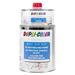 Vernice per lavagna bianca L 1 litro per una superficie di 6 m², bianca o trasparente, non magnetica!