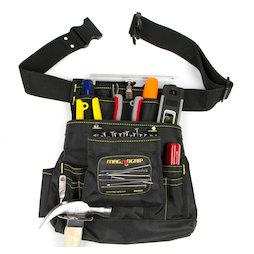 WS-MTP-01, Ceinture à outils magnétique grande, avec 10 compartiments & ceinture
