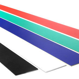 MB-19, Magnetic strip self-adhesive 80 cm, self-adhesive surface for magnets, metal
