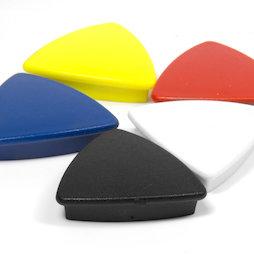 BX-TR30, Boston Xtra triangular, set of 5 office magnets neodymium