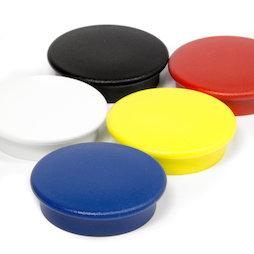 BX-RD30, Boston Xtra round, set of 5 office magnets neodymium