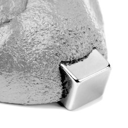 M-PUTTY-FERRO/silver, Thinking Putty magnetic silver, Ferromagnetic putty, silver, magnet not included