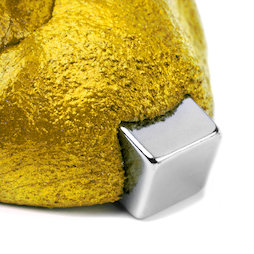 M-PUTTY-FERRO/gold, Thinking Putty magnetic gold, ferromagnetic putty, gold, magnet not included