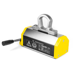 WS-LHM-500, Aimant de levage MaxX 500, charge maximale 500 kg, pour matériaux plats et ronds, coefficient de sécurité 3:1