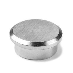 PBM-22, Steel 22, office magnet neodymium made of steel, Ø 22 mm