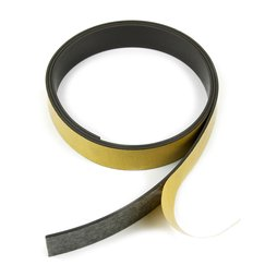 Self-adhesive magnetic tape