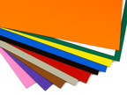 Colourful magnetic sheets for cutting and labelling